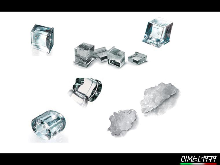 CIMEL 1979 SRLS: tipi di ghiaccio